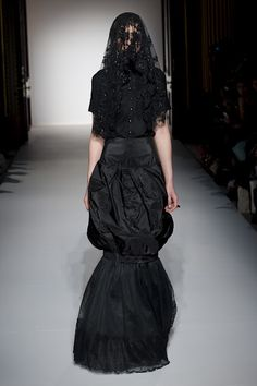 Francesca Marotta AW12, sicilian fashion designer.