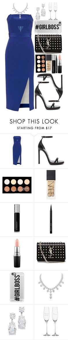 """""""#Girlboss"""" by dontneedfashion ❤ liked on Polyvore featuring Nicholas, Yves Saint Laurent, NYX, NARS Cosmetics, Givenchy, Bobbi Brown Cosmetics, MAC Cosmetics, Casetify, women's clothing and women's fashion"""