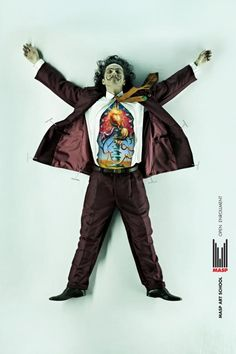 MASP Art School: Dissected, Dali, Masp Art School, DDB Sao Paulo, Masp - Museum Of Art Of Sao Paulo, Print, Outdoor, Ads