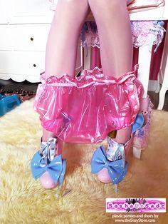 Alessandra Luxury Plastic Panties