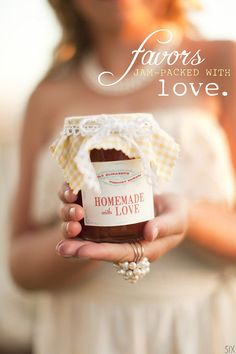 Wedding Picnic Favor... love, love, love!