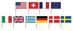 Good idea when people from several countries gather to celebrate.  Unfortunately, can't request specific countries.