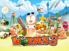 Worms 3 para Android, iPhone e iPad, Vuelven los Gusanos más Guerreros
