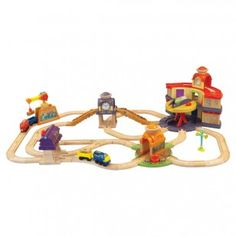 Chuggington Wood All Around Chuggington Set