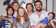 Rafael Cardoso, Mariana e Sonia Bridi apoiam campanha em prol da família