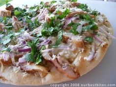Asian BBQ Chicken Pizza | Our Best Bites