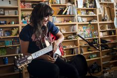 """Courtney Barnett can tell you a story like she's your best friend — provided your best friend is a funny poet with an Australian accent. Listen to """"Avant Gar..."""