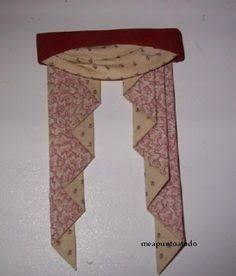 Bildergebnis für how to make miniature drapes for dollhouse