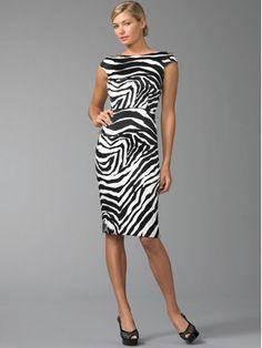 Dolce & Gabbana Zebra Print Dress