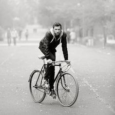 Markoza Cycles #bike #bicycle #vintage #handmade #cyclist #cycle #black #chrome #oldschool #sturmey #archer #markoza #cycles