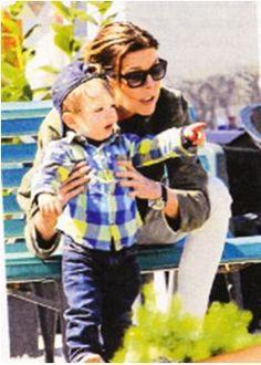laprincesscaroline:  Princess Caroline with her second grandson, Raphael (son of Charlotte) in March 2015