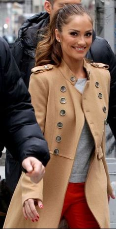 Minka: Tart Coat. Autumn/winter chic.
