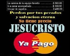 Ya Cristo lo pago todo!  Escucha Su Palabra: http://youtu.be/tIpOvRgdm6Q Busca en Facebook: https://www.facebook.com/minreydesion  Compartelo y bendice a otros!