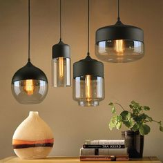 Buy it before it ends. There is always many products on sae upto - Nordic Modern loft hanging Glass Pendant Lamp Fixtures LED Pendant lights for Kitchen Restaurant Bar living room bedroom - Pro Buyerz Dining Room Light Fixtures, Kitchen Lighting Fixtures, Kitchen Pendant Lighting, Glass Pendant Light, Dining Room Lighting, Pendant Light Fixtures, Rustic Lighting, Glass Pendants, Pendant Lamps
