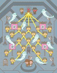 Mass Hysteria – Les adorables illustrations Pop Culture de 100% Soft (image)