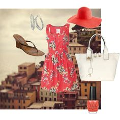 Italian vacation outfit