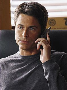 Rob Lowe - Brothers and Sisters TV Show..I'm watching this show on DVD...kind of a soap opera, but for some reason, I am really enjoying it!