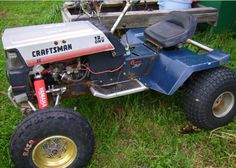 Craftsman Riding Mower 638033472181798521 - Nice tractor Source by Old Tractors, Lawn Tractors, Small Tractors, Compact Tractors, 4x4, Garden Tractor Pulling, Homemade Go Kart, Homemade Tractor