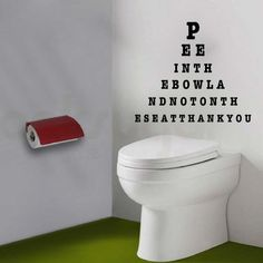 Funny Bathroom Wall Decals _ TrendyWallDesigns.com