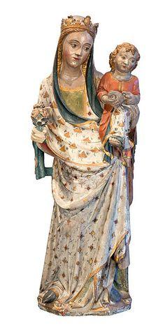 """""""Mare de Déu de Saidí"""". És la proposta del Museu de Lleida Diocesà i Comarcal per al viquiprojecte 'Una Joia del Museu' (DIM 2013)"""