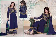 Ethnic New Bollywood Suit Anarkali Salwar Kameez Indian Designer Pakistani Party #KriyaCreation #SalwarSuit