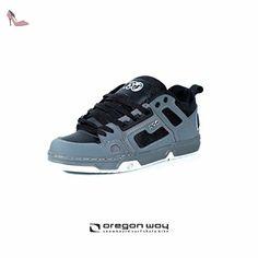 DVS , Chaussures de skateboard pour homme - gris - CHARCOAL BLACK NUBUCK, 37 EU EU - Chaussures dvs apparel (*Partner-Link)