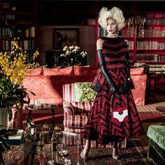 RDUJOUR: Aline Weber for Vogue Brazil May 2014 http://www.fashion.net/today/