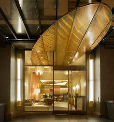 Timeless and Contemporary Lobby Hotel Interior Design of Hotel Abri, San Francisco