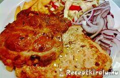 Böllér pecsenye   Receptkirály.hu Hungarian Recipes, Hungarian Food, Sweet And Salty, Steak, Bbq, Paleo, Food And Drink, Homemade, Dishes