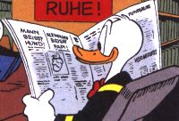 What will be in the News for Donald Duck, News