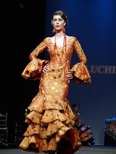 A traje de flamenca for every season - this one's very autumnal, no?