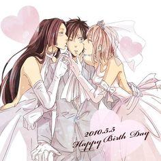 luffy wedding | Tags: Anime, ONE PIECE, Nami, Monkey D. Luffy, Boa Hancock