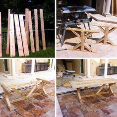 {DIY Farmhouse Table!}