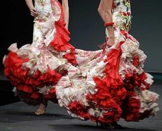 Robes flamenco