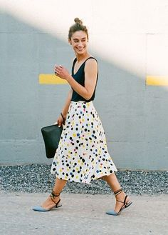 Warm weather style tips for July via Lauren Conrad
