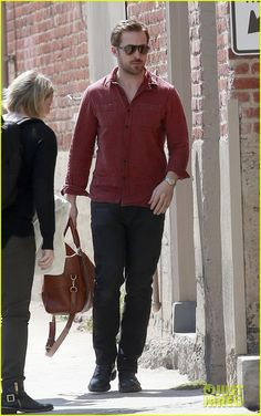 Ryan Gosling Steps Out After Eva Mendes Gives Birth