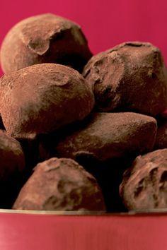 Trufas de Chocolate de dos ingredientes