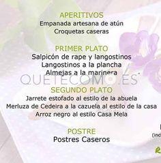 Menú Día de la Madre 2015   Restaurante cafetería Mela en Arteixo, A Coruña