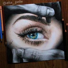 Check out this colored pencil sketch by @elia_pelle #artistinspired #theartisthemotive .