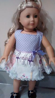 American Girl Doll Clothes. 18 inch Paris by MelanieRoseDesigns