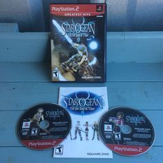 Star Ocean Till The End Of Time Video Game Sony PlayStation 2 PS2 ~ Untested