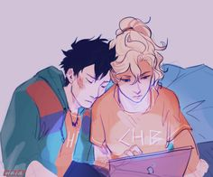 Sick & Tired | by Viria | Percabeth | Percy & Annabeth | Percy Jackson and the Olympians | Heroes of Olympus