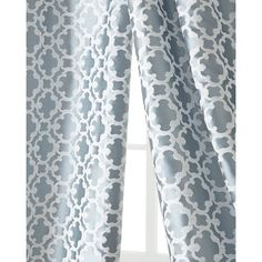 "Each 55""W x 108""L Palisade Tile Curtain (10.635 RUB) ❤ liked on Polyvore featuring home, home decor, window treatments, curtains, pewter, lining curtains and rod pocket curtains"