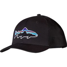 937165b39cef7 Patagonia Men s Fitz Roy Trout Trucker Hat