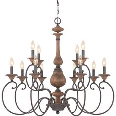Found it at Joss & Main - Kennedy 12-Light Candle Chandelier- outdoor dining