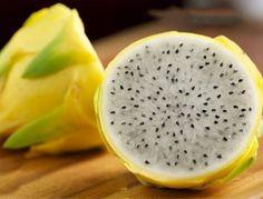 Rare Large Yellow Dragon Fruit Pitaya Organic Seeds, Professional Pack, 40 Seeds / Pack, Sweet Selenicereus Megalanthus