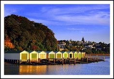 Orakei Boat Sheds - Auckland.