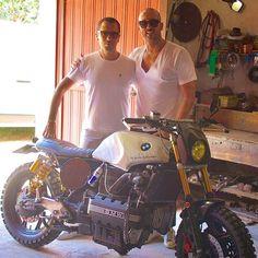 """""""Mi piace"""": 537, commenti: 4 - GIORGIO DE ANGELIS (@deangeliselaborazioni) su Instagram: """"BMW K100 Super Skrambler and Super International DJ Producer @cristianmarchi - Made in Italy -…"""""""