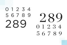 Number Tattoo Fonts, Number Tattoos, Serif Typeface, Sans Serif Fonts, Number Fonts Free, Brandon Grotesque, D Tattoo, Classic Fonts, Need To Know