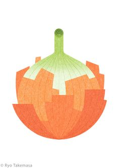 Vegetables & Fruits on Behance